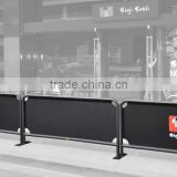 High Quality Cafe Barrier Screens,Cafe Barriers for Sale                                                                         Quality Choice