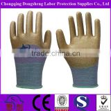 13G Polyester Shell Anti-Acid Oil Proof nitrile waterproof work gloves