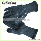Promotioanl Kevlar BBQ Gloves , Heat Resistant Ant Fire Glove , Barbeque Mitt , Kitchen Gloves For Microwave Oven Usage