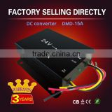 CE and RoHS Approved dc dc 24 volt to 12 volt power converters 15A with Memory line