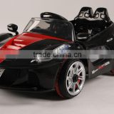 modern cheap 12V two batteries open door RC electric ride on cars with MP3