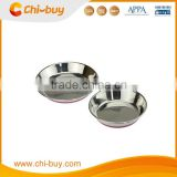 Chi-buy Non-slip Stainless Steel Pet Plate with Silicone Bottom Free Shipping on order 49usd