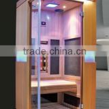 2016 infrared cryo sauna combine the full spectrum heaters with carbon heaters for heathy