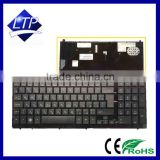 Keyboard with frame for HP PROBOOK 4520s 4520 laptop keyboards FR/ RU /US / UK layout
