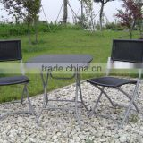 folding garden bistro set rattan table and chair