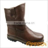 Alibaba Trade Assurance genuine leather high quality strong men shoes work, iso 20345, agriculture safety shoes facotry SA-3301