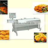 Expro chicken nuggets frying machine (BYZJ-V-200) / Equiped with infeed / Oil-water separated system / Efficient machine