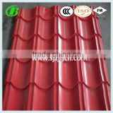 22 gauge color coated hot dipped galvanized roofing corrugated steel sheet
