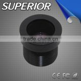 mini camera component Focal length 12mm F2.0 Fixed iris M12 mount camera lens Board Lens for micro camera