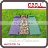 self-Inflatable and interlocking 190T Polyester Camping Mat with pillow /Camping Floor Mat
