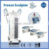 2016 Europe Star! Freeze Sculptor Machine/ Cryolipolysie Cellulite Reduction Fat Freezing Cellulite Reduction Machine Improve Blood Circulation