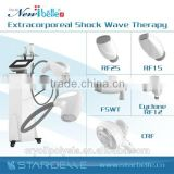 2015 vertical new acoustic wave therapy cavitation rf body slim face skin beauty machine