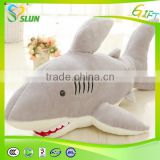Factory direct sale lovely hot selling stuffed toys shark