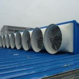 fiberglass  FRP  material   exhaust fan with cone