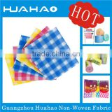 Hot biodegradable nonwoven cleaning cloth,microfiber glass cleaning cloth/towel