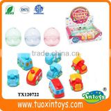 plastic egg capsule toy, plastic capsule for toys