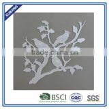 square bird with branch Wall Plaque for home decoration