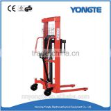 Best offer lifting equipment hand hydraulic forklif manual stacker