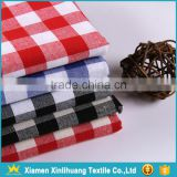 Hot Sale 100% Cotton Shirt Fabric Yarn Dyed Plaid Fabric for School Uniforms