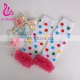 Leg Warmer for Baby Girls Fashion Wave Agaric Girls Special Dot Socks Invierno leggings