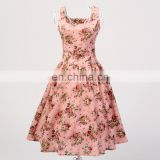 supplier dropship prom dress plus size unique design rockabilly clothing ropa vetements bekleidung rose pattern print