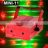 Hot Selling Christmas MINI-11 5W Mini Firefly and One Dimension Effects Laser Light