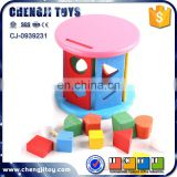 To hold blocks intelligent set wooden child toy