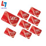 Colorful Supermarket Discount Card with CR80 PVC Material