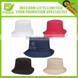 100% Cotton Logo Branded Cheap Bucket Hat