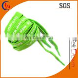 Polyester transparent tip shoelace