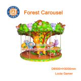 Zhongshan hot sale, high quality amusement park equipment, merry go round, 12 seats Forest Carousel, earn money, for kid