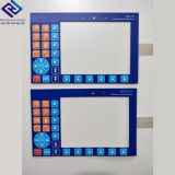 OEM Service membrane switch tactile push button keypad with led membrane display