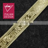New Products royal style gold lurex ribbon