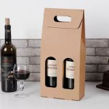 Rigid clear wine gift box packaging