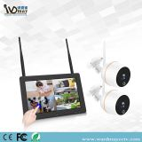 4 CH 2.0MP CCTV Wireles Home Security WiFi NVR Alarm System Kits with 7 Inch Touch Screen