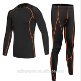 Wholesale new design sports tights gym suit for man