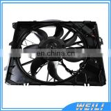 Electric Cooling Fan/ Radiator Fan Assembly 17427562080 17427522055 for BMWE81 E87 E87LCI E88 E82 E90 E90LCI E91 E91LCI E92 E93