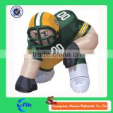 nfl customized high quality inflatable player lawn figure