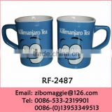 Zibo Made Good Quality Wholesale Price Colored Ceramic Promotion Disposable Beer Tasting Cup
