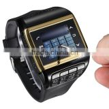 Hot selling Factory wholesale fashion bluetooth smart watch with keyboard Dual SIM Card Dual standby phone