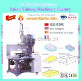 YL-CX-420 Model Gift set box making machine/ Automatic Rigid Box Maker/Automatic carton box forming machine