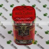 Tin container metal tin coffee tin