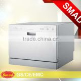 SMAD White made in China Wholesale countertop home use small dish washer with CE Rohs cert