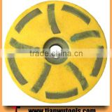 Dia.100mm HTC machine cutting concrete diamond grinding wheel