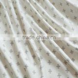High quality satin weave printing bamboo fiber bedding fabrics