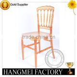 wholesale supply acrylic Napoleon chair for wedding/dining