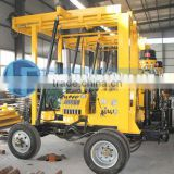 Hot Sale! Max 600m Depth! HF-3 Hydraulic 600m Depth Trailer Water Well Drilling Equipment