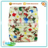 New Pattern Cartoon Character Washable Merries Sleepy Baby Diapers