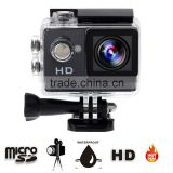 2inch Screen 720P HD Waterproof Action Sport Camera A7 for Inspectors, Bike, Car and Motorcycle