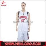 new lastest white basketball set , basketball jersey uniform design